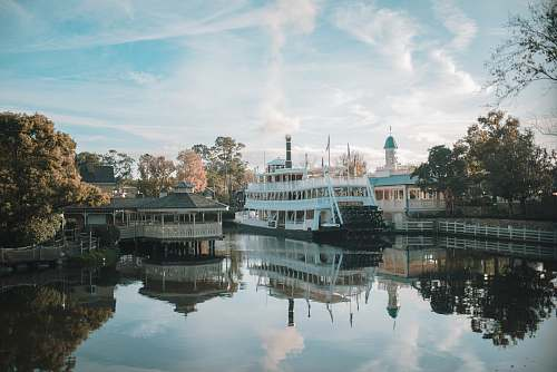 photo transportation passenger ship nead dock boat free for commercial use images