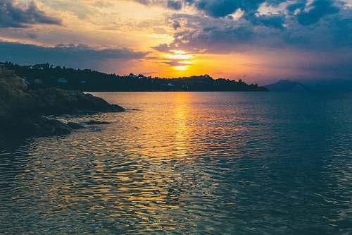 skiathos body of water beside shore greece