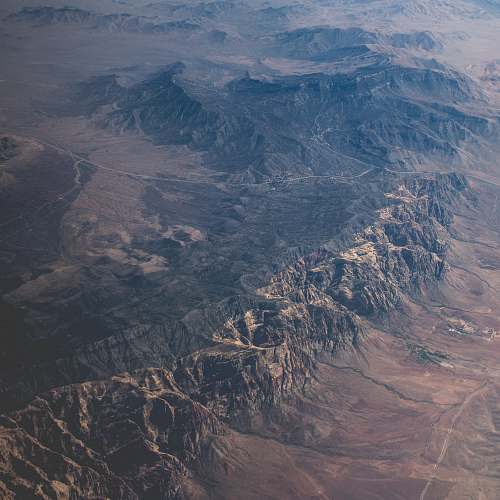 landscape aerial photography of mountain ranges mountains