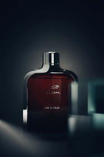 cosmetics Jaguar Classic Red fragrance bottle liquor