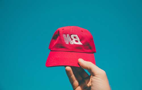 clothing red fitted cap baseball cap