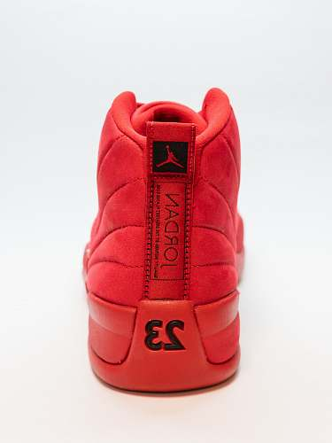 clothing unpaired red Air Jordan basketball shoe footwear