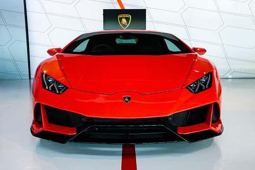 transportation red Lamborghini car vehicle