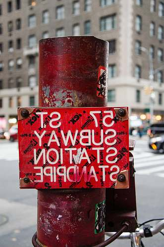 coke red road signage drink