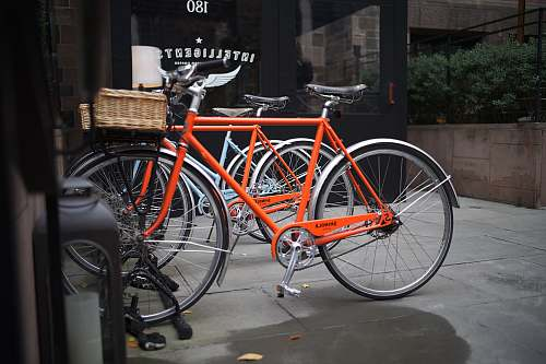 bike orange city bikes transportation