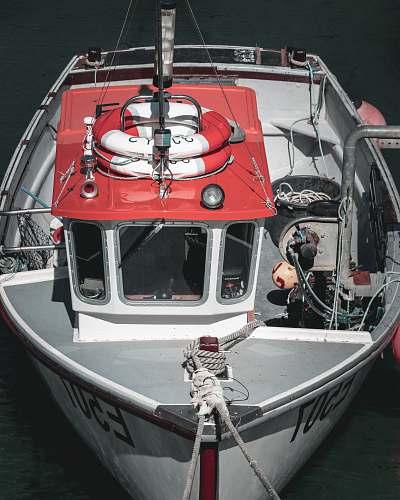transportation motorboat on body of water vessel