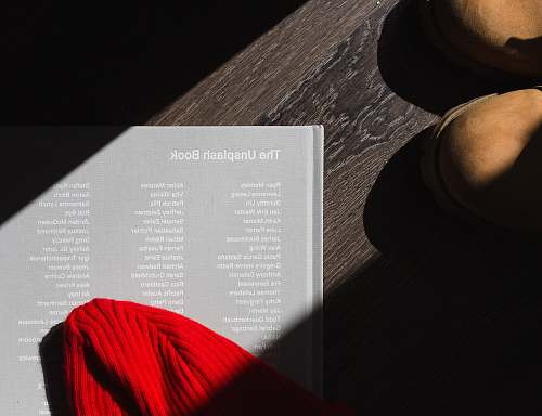 photography photo of The Unplash book on brown wooden surface table