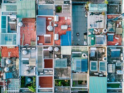 ho chi minh city aerial view photography of houses vietnam