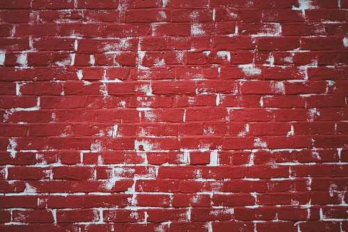 wall red and white concrete wall bricks owensboro