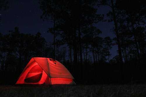 tent red camping tent leisure activities
