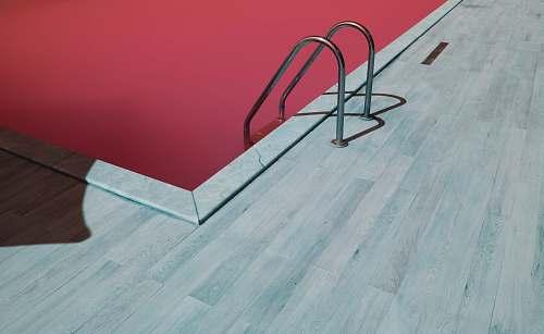 furniture gray metal pool ladder pool