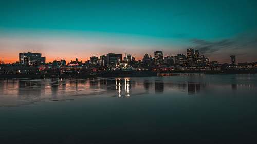 canada skyline cityscape photography waterfront