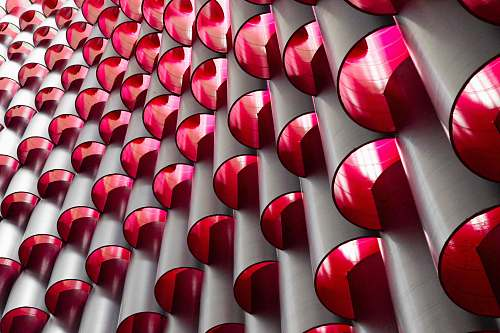 lipstick layer of red mirrors national building museum