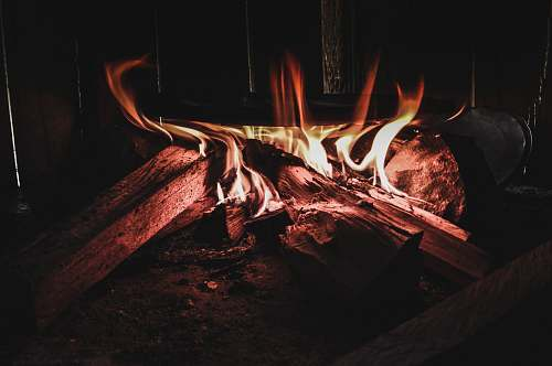 fire firewood burning flame