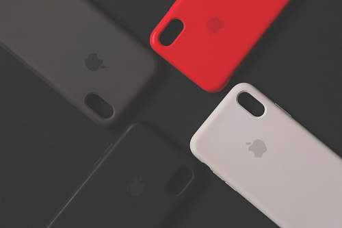 phone 3 assorted-color Apple iPhone cases cell phone