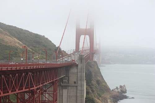 bridge San Francisco, Golden Gate surrounded by fog during daytime golden gate bridge