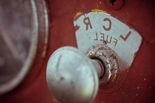 fuel gray LCR fuel knob vintage