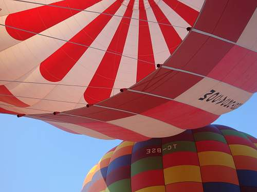 photo aircraft multicolored hot air balloons transportation free for commercial use images