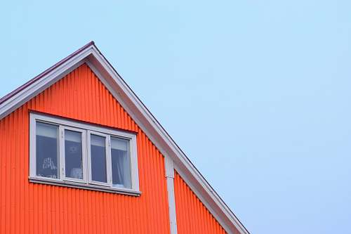 building closed window iceland