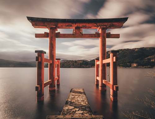 gate Torii Gate, Japan architecture