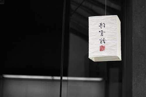 chinese lantern square white paper hanging lantern china