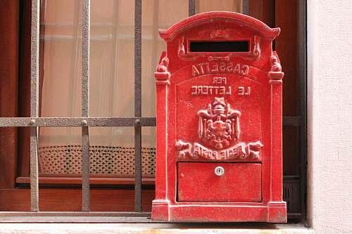 mailbox red mailbox venezia