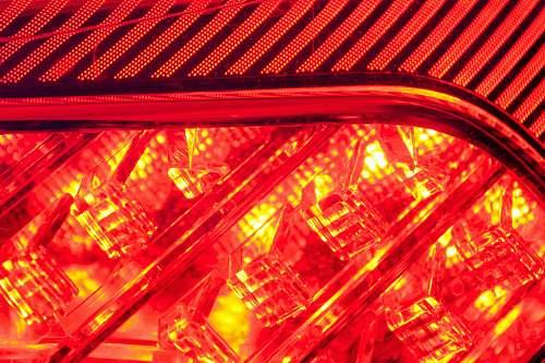 led red illustration red
