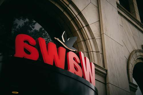 symbol Wawa sign on wall trademark