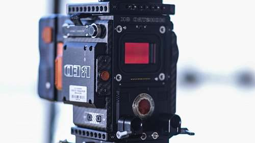 united states black Red theodolite red camera