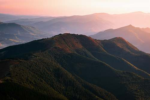 mountain aerial view of mountain outdoors