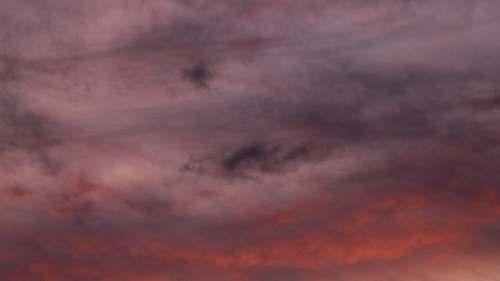 sky dark clouds outdoors