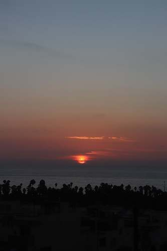 sky sunset at night dusk