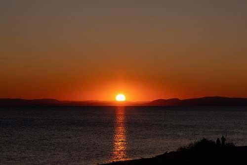 outdoors sunset photograph sky