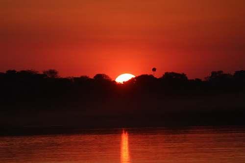 sunset sunset outdoors