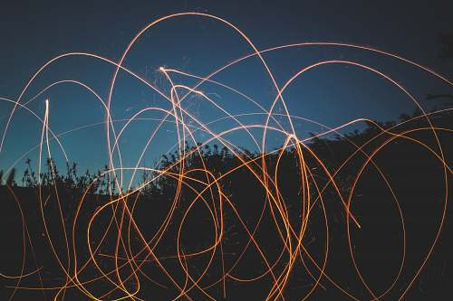 light trail light writing photography dusk