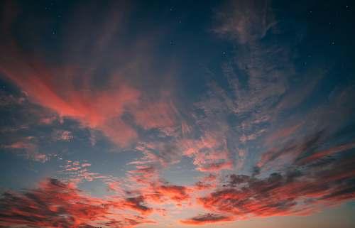 nature brown clods sunset