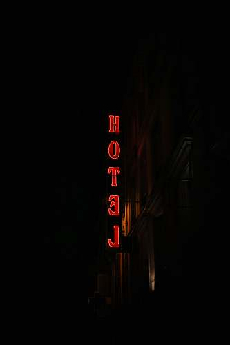 france low-angle photography of Hotel signage hotel