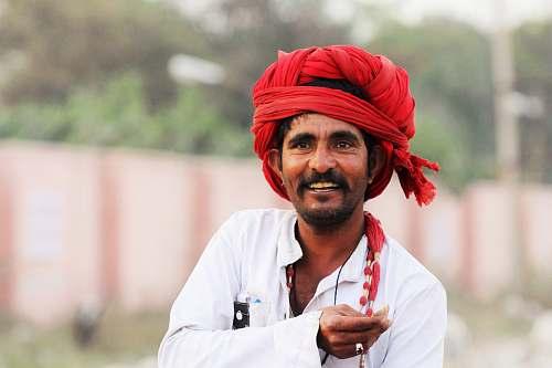 turban man wearing turban smiling human