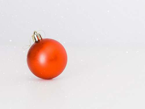 vegetable one red bauble food