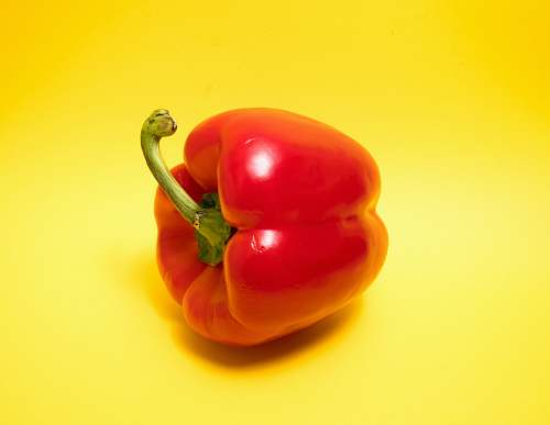food red bell pepper vegetable