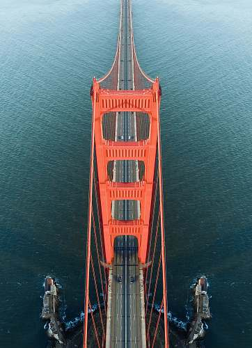 architecture aerial photo of Golden Gate Bridge during daytime california