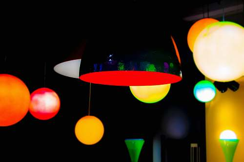 italy black ceiling light light