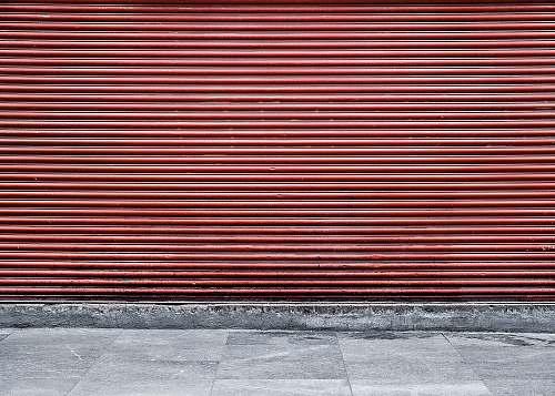 mexico brown roller shutter street