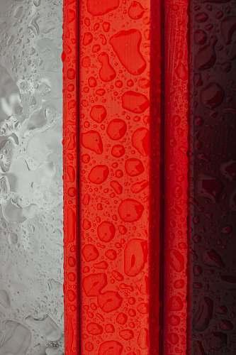 door close-up photography of liquid drop