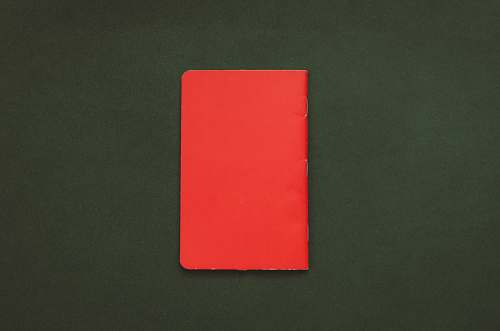 text closed red book alphabet