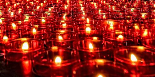 photo lighting lighted candle lot candle free for commercial use images