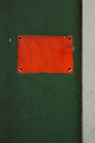 wall orange wall paint surface