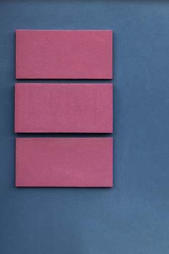 furniture pink boards on blue surface bielsko-biala