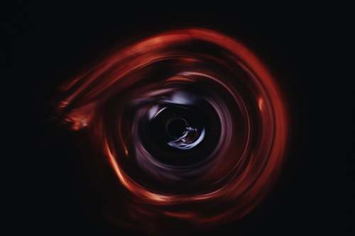 abstract red and black abstract digital wallpaper circle