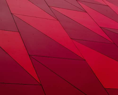 pattern red illustration triangle